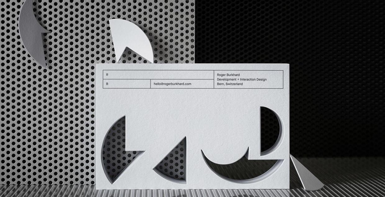roger branding burkhard business cards raster design designer visual identity lundgren-lindqvist Mindsparkle Mag