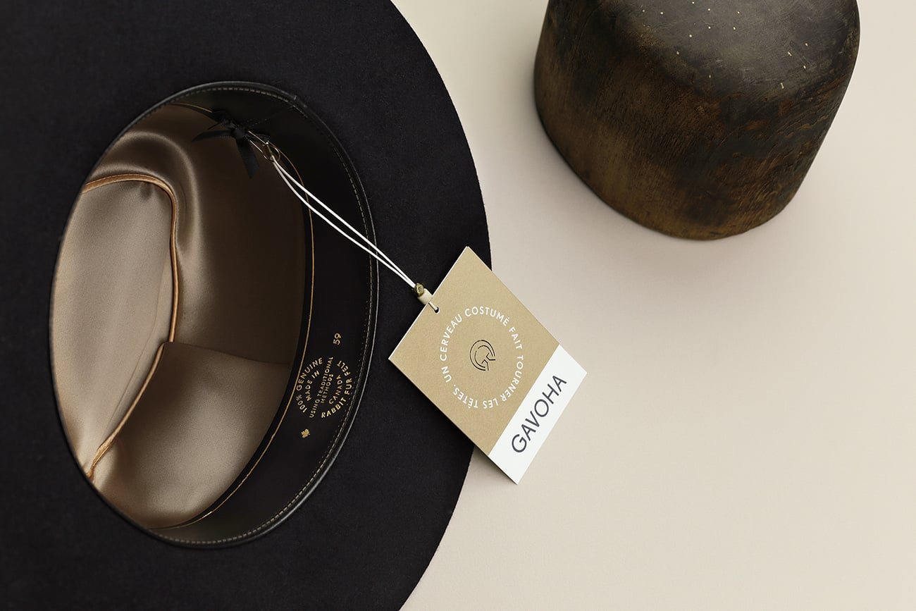 gavoha high-end hats identity