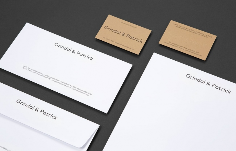 Grindal & Patrick Branding printdesign brand identity graphic design designer art direction by Milfred & Duck Mindsparkle Mag