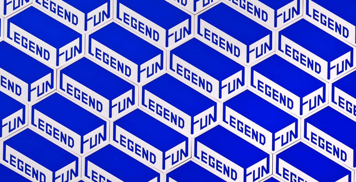 Legend Fun Identity branding printdesign brand design graphic design by Stella Shih Mindsparkle Mag