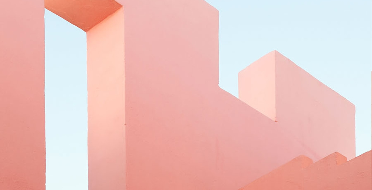 Secrets Architecture Photography color colorful art direction exterior design spain muralla roja by Jeanette Hägglund Mindsparkle Mag