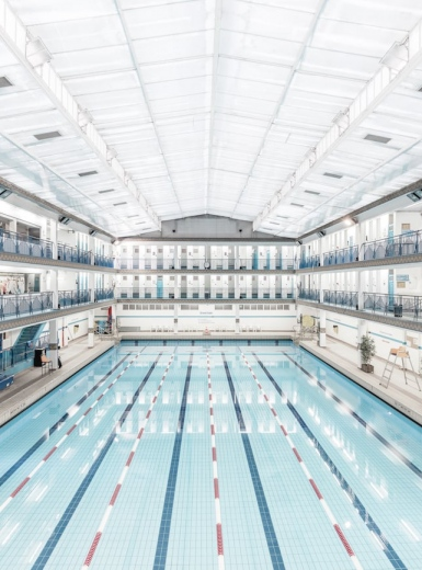 Paris Swimming Pool Photography - Mindsparkle Mag