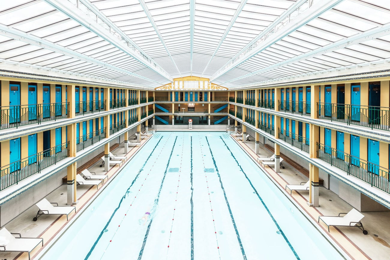 Paris swimming pool photography mindsparkle mag for Architecture interieur paris