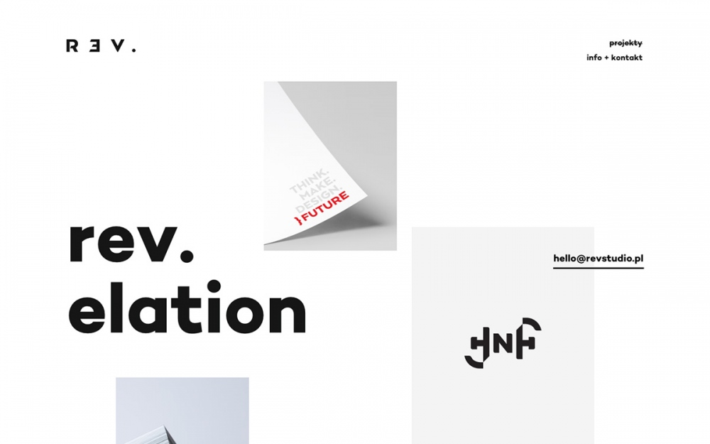 rev studio branding identity webdesign web website online award sotd site of the day Mindsparkle Mag 1