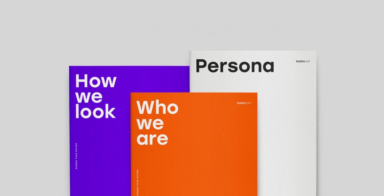 Badoo brand identity design mindsparkle