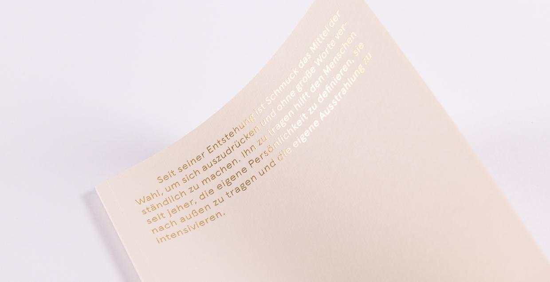 GalerieVoigt Jewelry Catalog design brand identity mindsparkleGalerieVoigt Jewelry Catalog design brand identity mindsparkle
