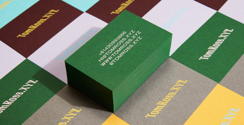 TomRoss.xyz confetti studio branding mindsparkle