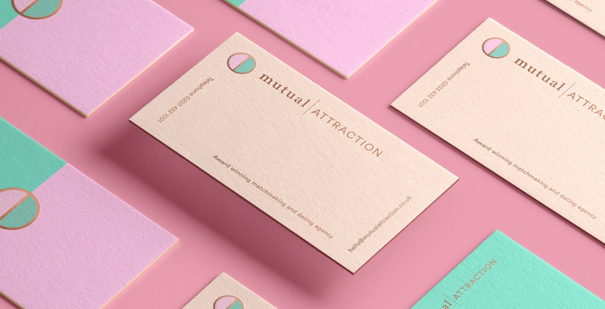 Mutual attraction branding identity design brand nu mindsparkle