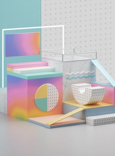 Summer udpate 3d graphics design mindsparkle