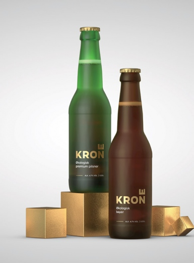 Krone beer packaging design mindsparkle mag