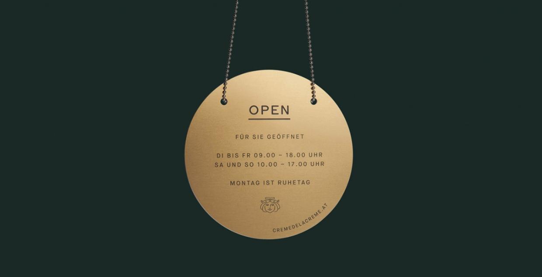 Creme de la Creme Vienna Identity design mindsparkle mag