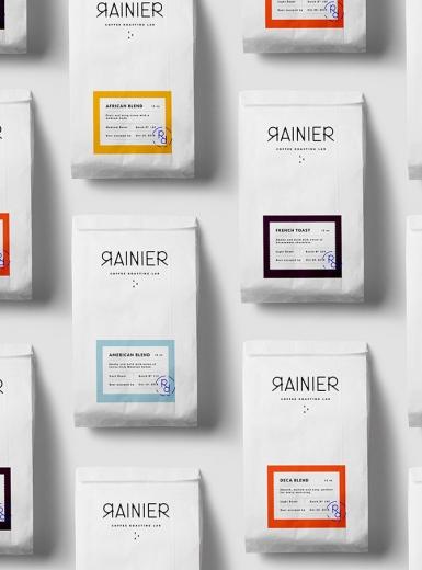 Rainier Coffee Roasting Lab design mindsparkle mag