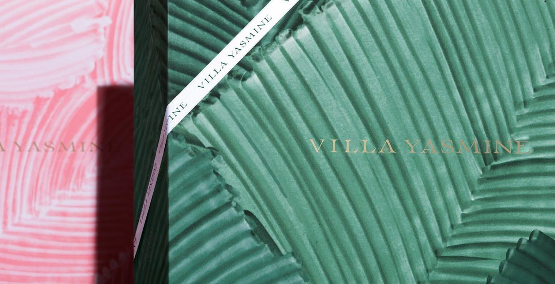Villa Yasmine Branding design mindsparkle mag