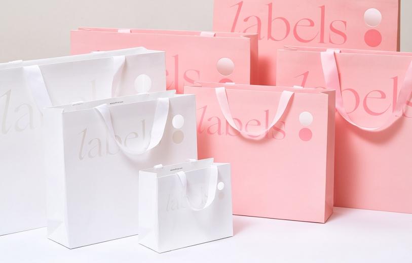 labels Corporate Design mindsparkle mag