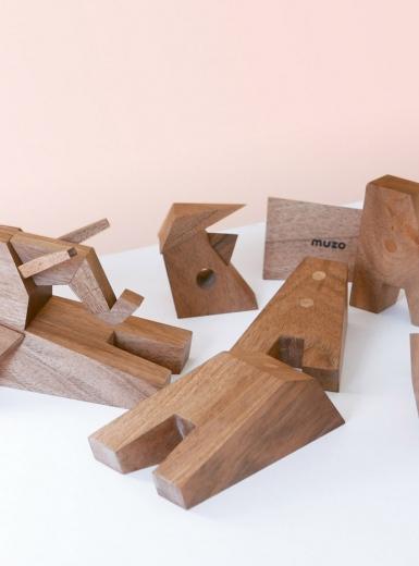 Muzo Wooden Toys Mindsparkle Mag