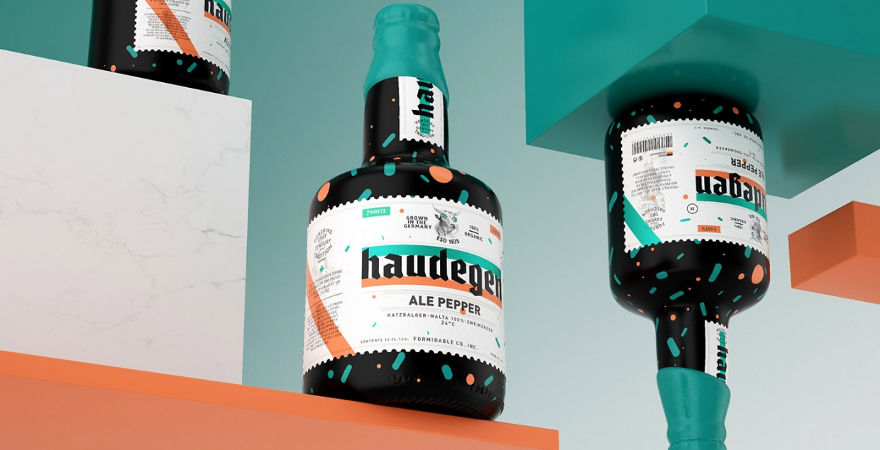 Haudegen Beer Packaging design mindsparkle mag