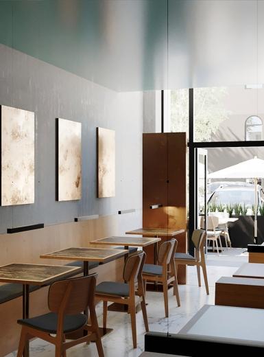 Raw restaurant interior mindsparkle mag