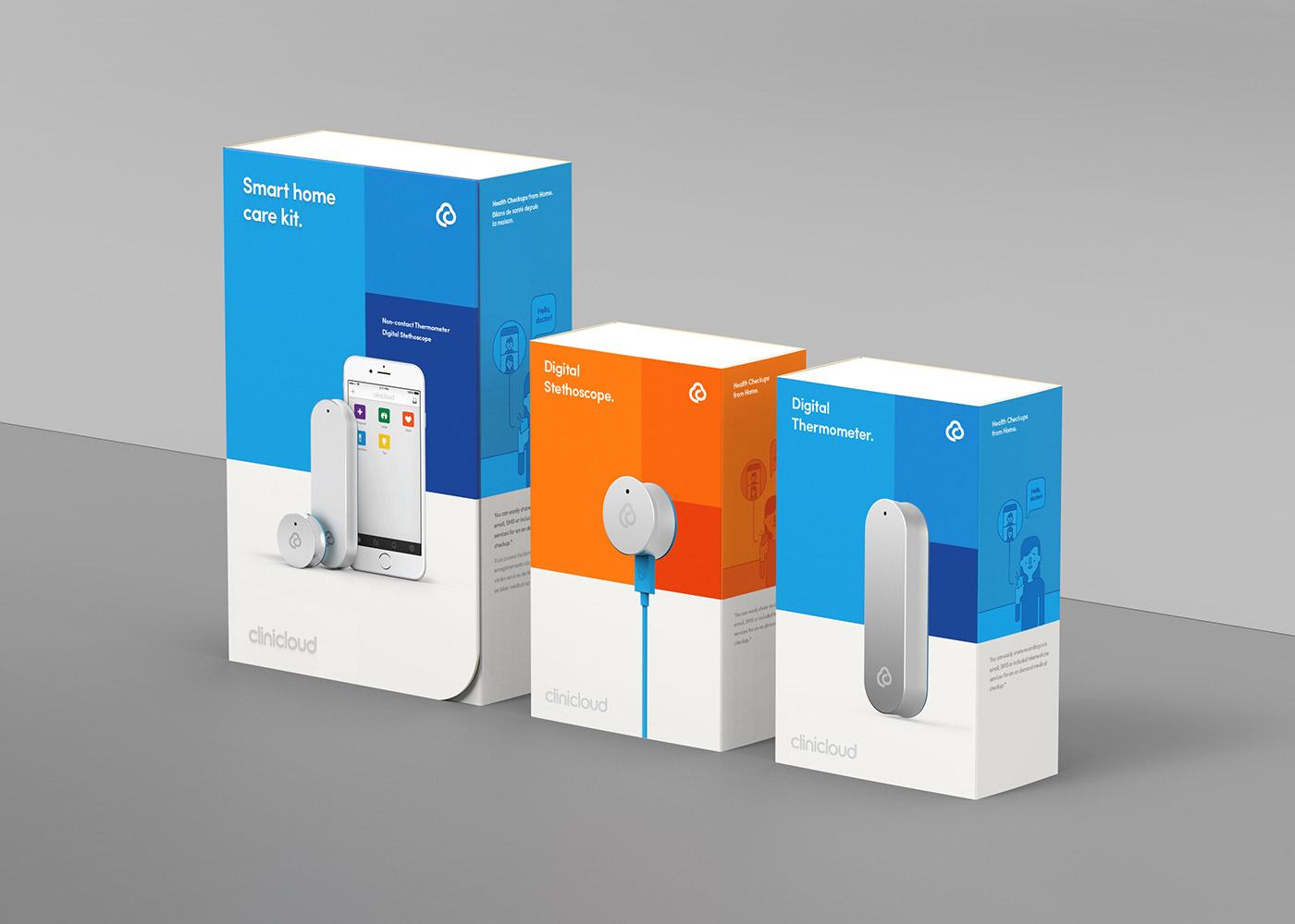 clini cloud packaging design mindsparkle mag
