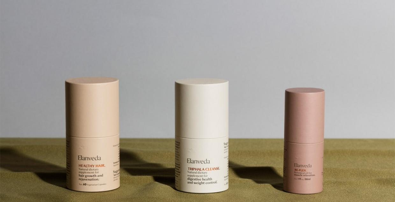 Elanveda Cosmetics Branding design mindsparkle mag