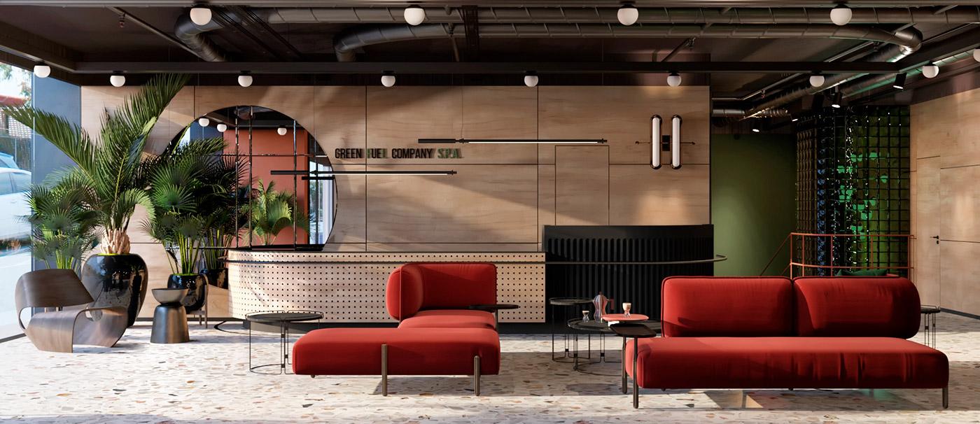 Energetic Italian Office Design Mindsparkle Mag