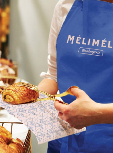 Mélimélo Bakery Branding design mindsparkle mag