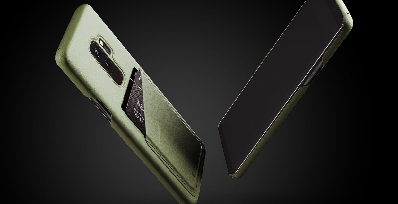 Mujjo S9 Leather Case design mindsparkle mag