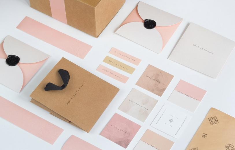 Rose Botanica Branding design mindsparkle mag