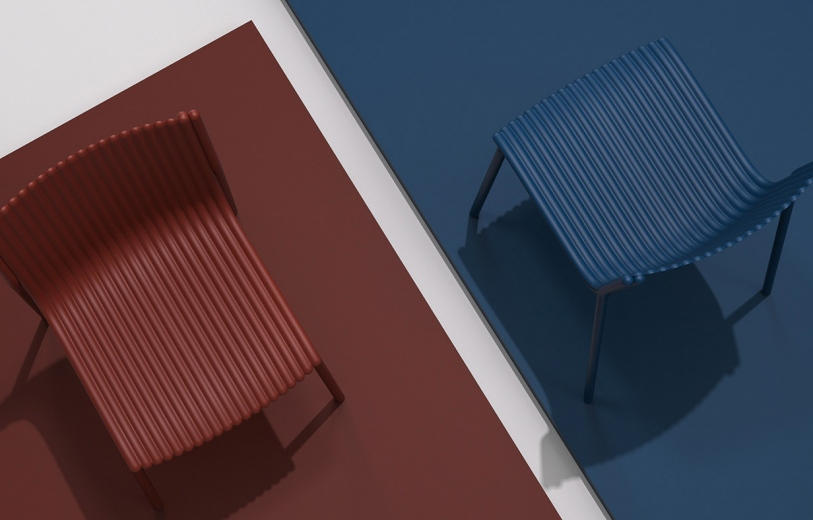 The Pleats Chair Design mindsparkle mag