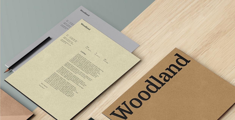 Woodland Branding design mindsparkle mag