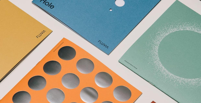 fluvia branding brand identity product design stationery lookbook mindsparkle mag