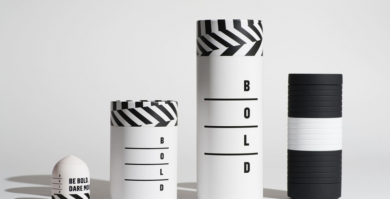 bold packaging minimalist black white print visual design graphic paper mindsparkle mag