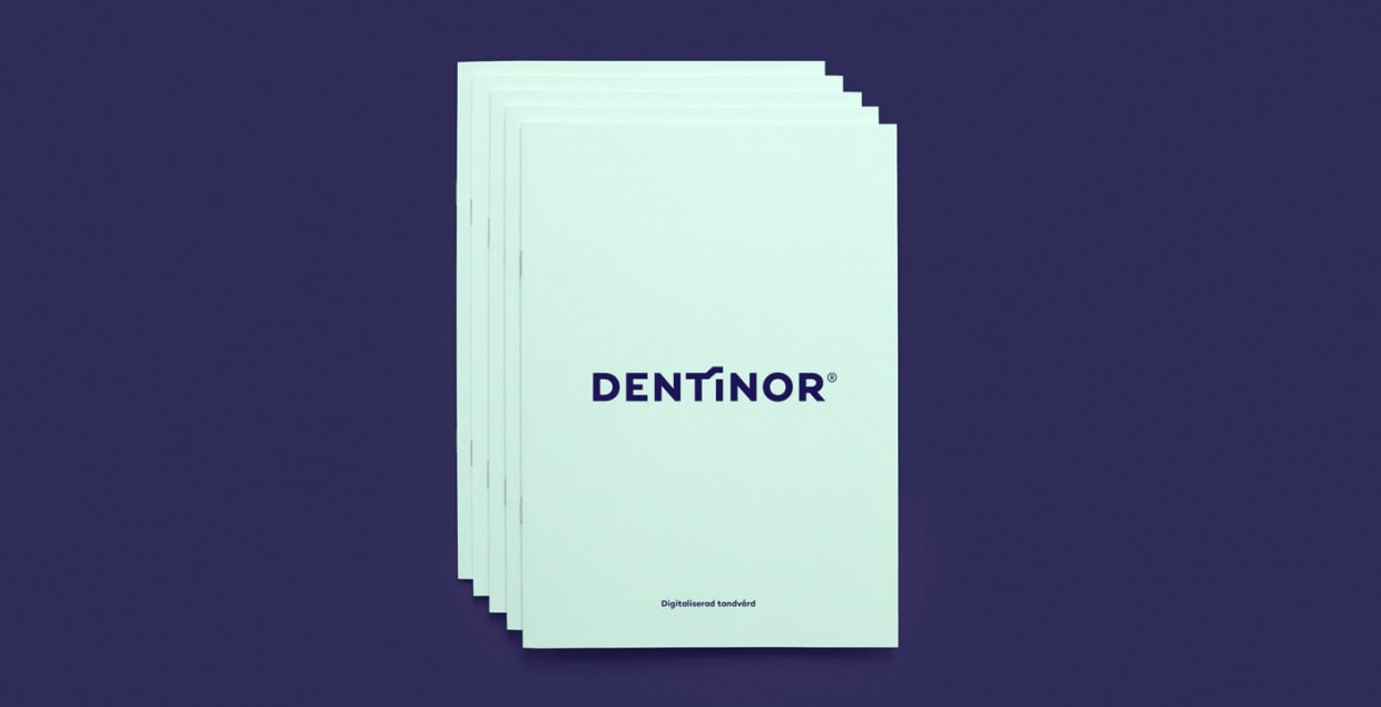 dentinor dental group branding identity graphic design print stationery mindsparkle mag