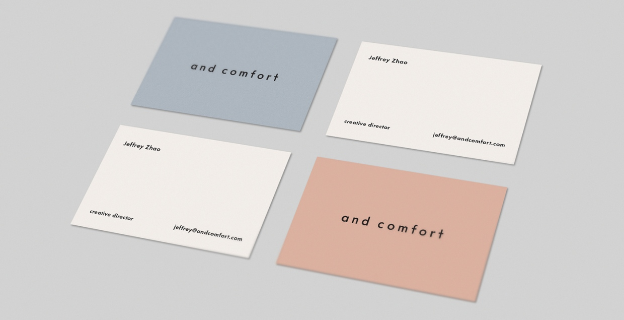 and comfort graphic design branding brand identity print art direction editorial mindsparkle mag