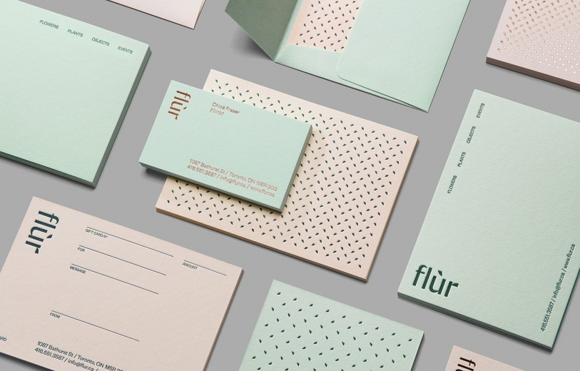 flur brand identity branding graphic design art direction visual mindsparkle mag
