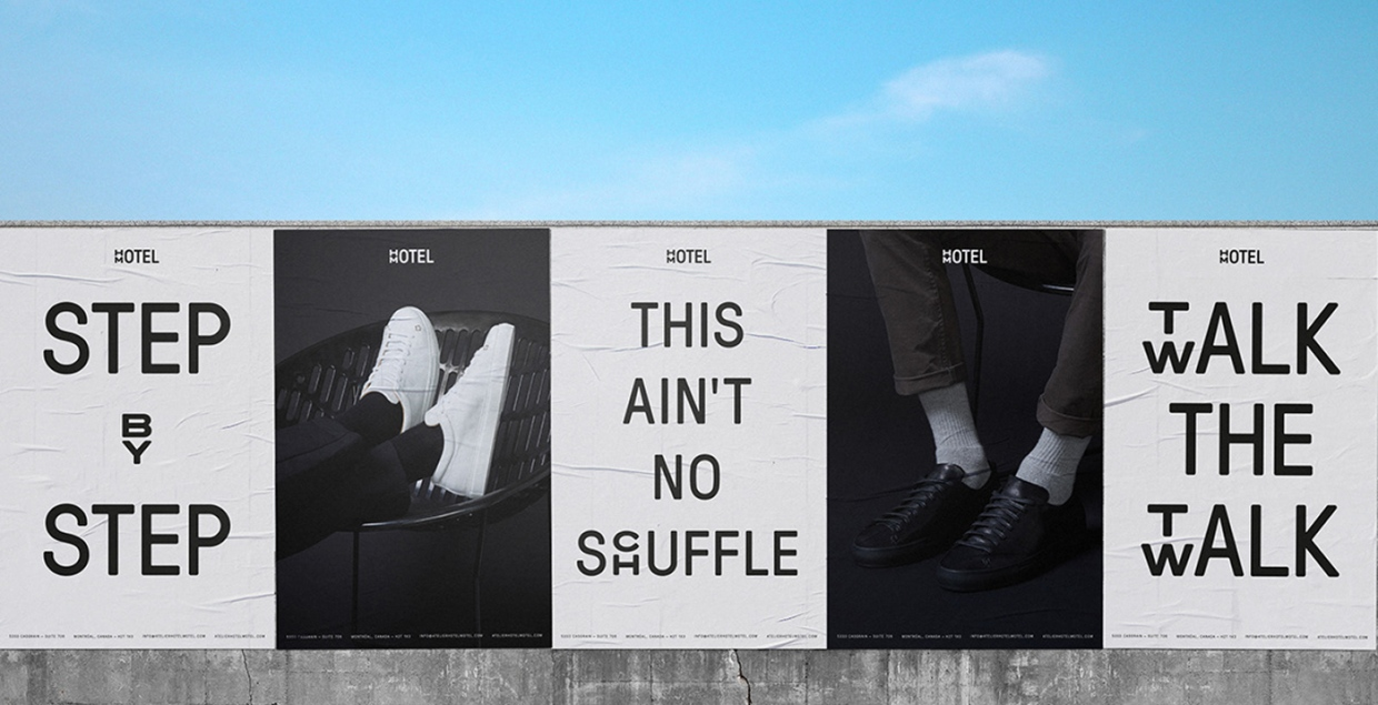 hotel motel branding fashion graphic design brand art direction mindsparkle mag