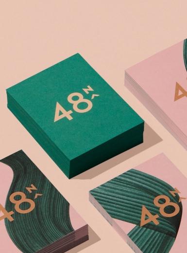48north graphic design branding editorial product identity brand mindsparkle mag