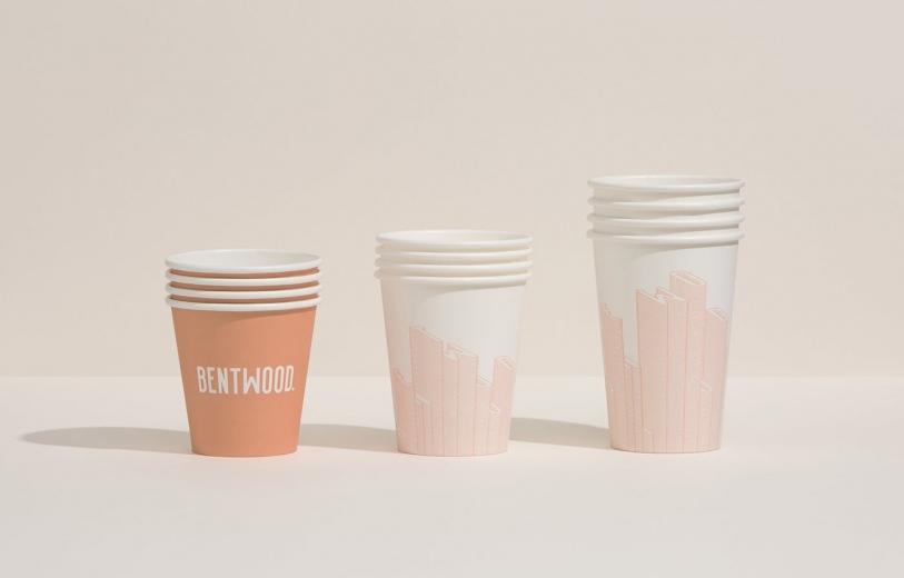 bentwood cafe graphic design branding typography interior print stationery mindsparkle mag