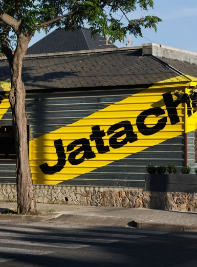 jatachi typography graphic design architecture branding brand identity mindsparkle mag