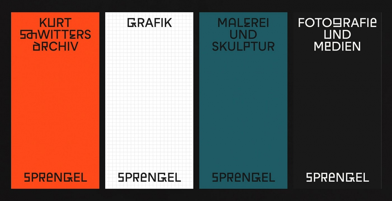 sprengel museum graphic design art direction branding brand identity print stationery exhibit mindsparkle mag