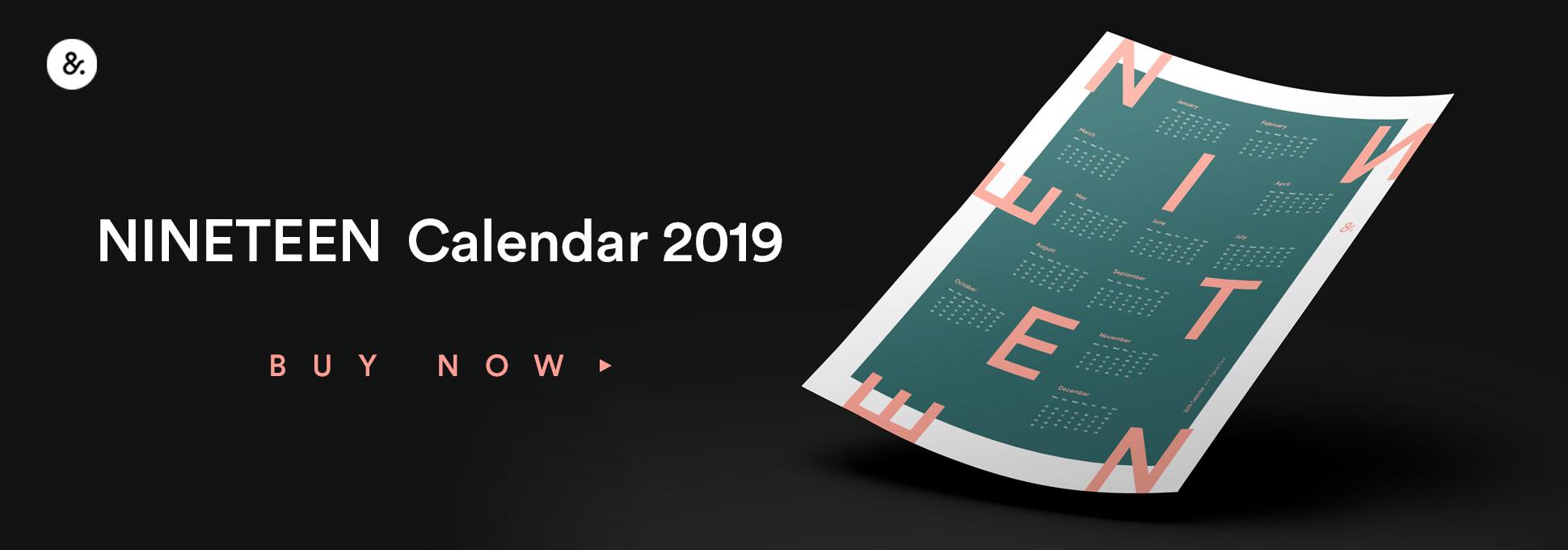 Type&Face Calendar