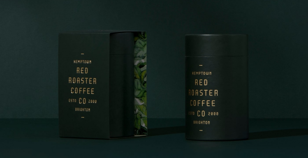 red roaster coffee graphic design branding packaging print stationery mindsparkle mag
