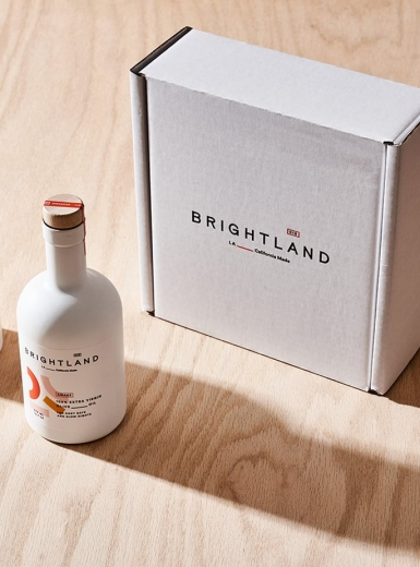 brightland branding packaging brand identity design graphic print stationery mindsparkle mag