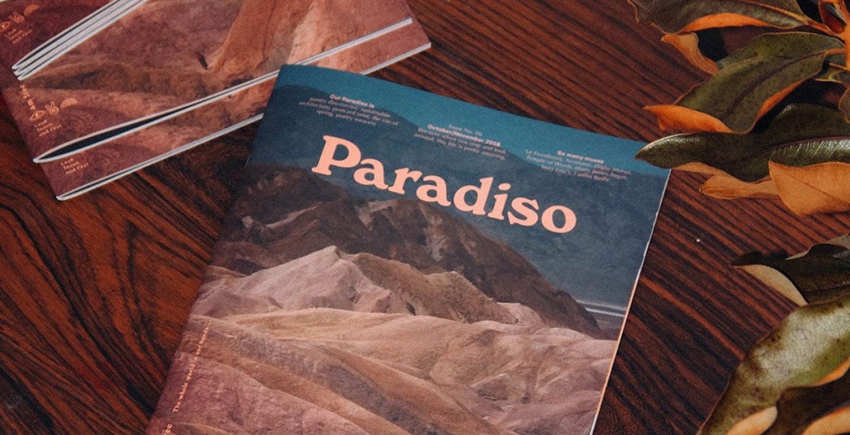 paradiso magazine editorial graphic design visual art direction mindsparkle mag