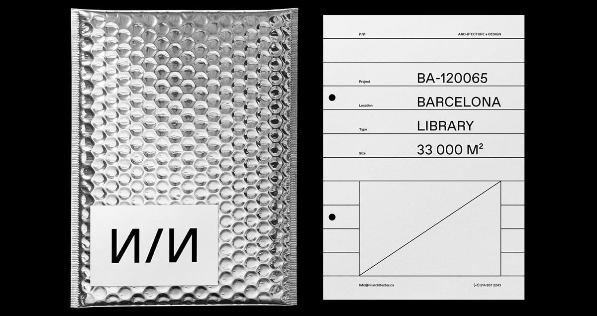nn architecture art direction brannding brand identity graphic design print sttaionery mindsparkle mag