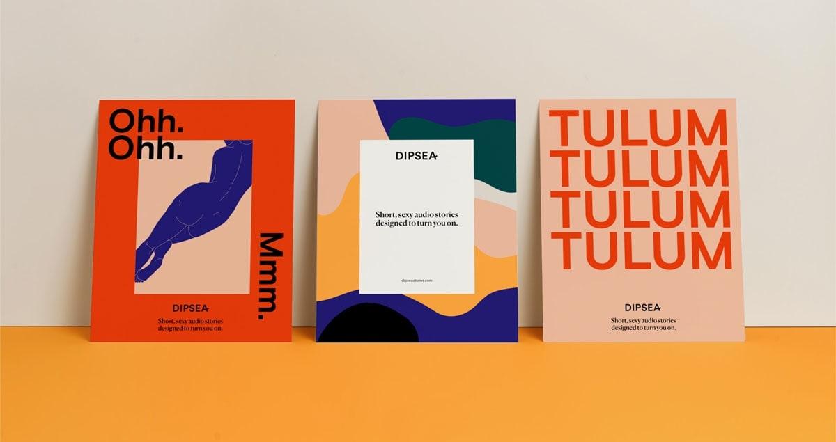 Dipsea – Sexual well-being App branding corporate UX design