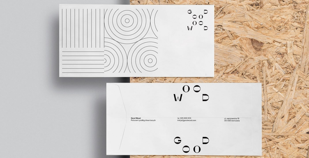 good wood branding brand identity graphic design art direction print stationery mindsparkle mag