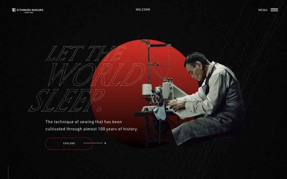 Sotdkitamura makur is a beautiful modern website awarded for its best webdesign as Site of the day with its animations, transitions and special typography effects.