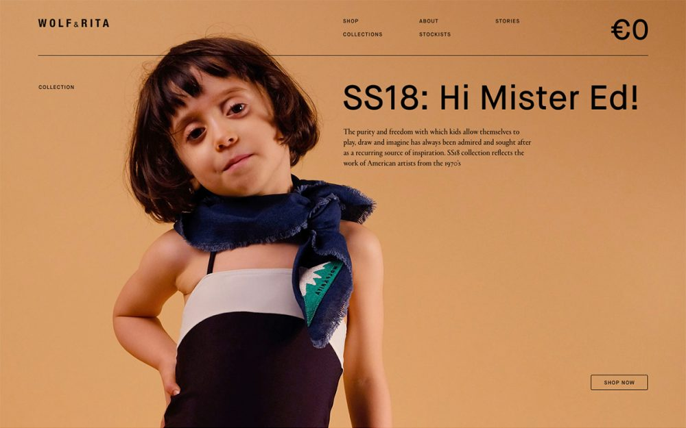 wolf&rita rotate studio siteoftheday sotd award digital web design inspiration mindsparklemag