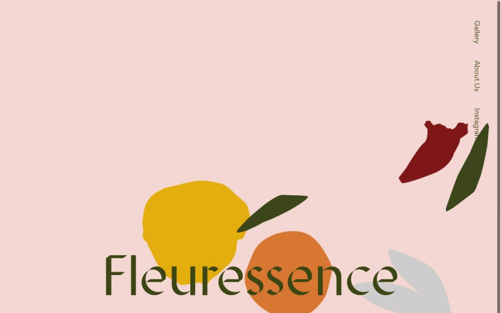 web design digital website modern inspiration beautiful project mindsparklemag siteoftheday sotd award fleuressence Kenna Fi Bennett