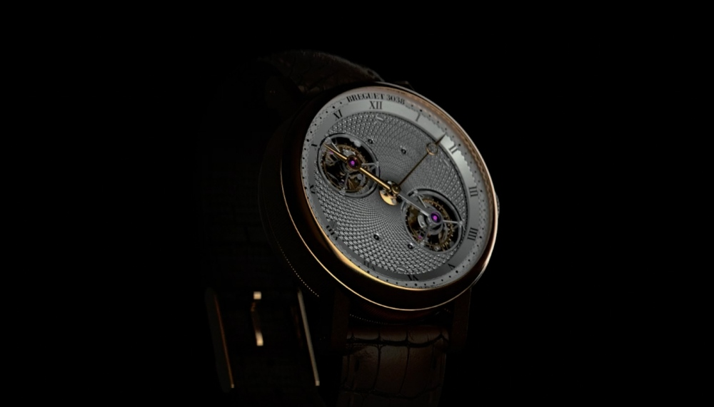 Breguett Double Tourbillon The Yazuki motion graphics graphic design branding film video stock mindsparkle mag